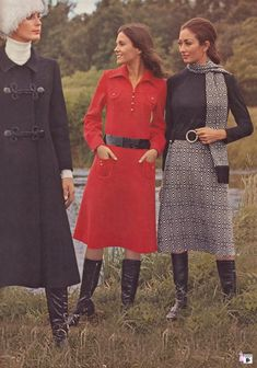 Vintage Fashion vintage everyday: 50 Awesome and Colorful Photoshoots of the Fashion and Style Trends 60s And 70s Fashion, Seventies Fashion, Fashion Over 50, Timeless Fashion, Retro Fashion, Vintage Fashion, 70s Women Fashion, Cheap Fashion, Colorful Fashion