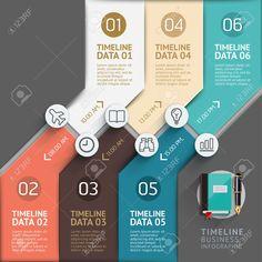 タイムラインのインフォ グラフィック テンプレート。ベクトル イラスト。ワークフローのレイアウト、バナー、図、番号のオプション、web デザインに使用できます。