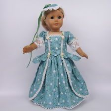 Handmade Doll Clothes for 18 inch American Girl Dolls Party Dress AG050