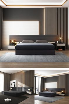 Simple Bedroom Design, Luxury Bedroom Design, Master Bedroom Interior, Modern Master Bedroom, Bedroom Furniture Design, Home Room Design, Master Bedroom Design, Minimalist Bedroom, Contemporary Bedroom