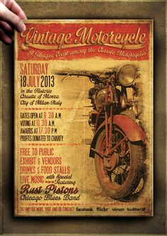 motorcycle poker run flyer template motorcyle pinterest poker flyers and posts. Black Bedroom Furniture Sets. Home Design Ideas