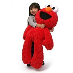The Official PBS KIDS Shop | GUND Sesame Street Elmo 34 Inch Jumbo Take Along Plush