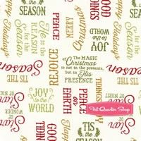 Reason for the Season Cream Word Toss Yardage SKU# 82486-173
