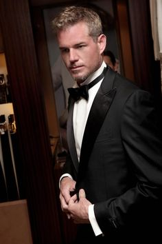 The actor Eric Dane with in the Ermenegildo Zegna store in Cannes