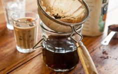 iced coffee -- Mom would love this infused w mint and recreate my fave coffee spot in Berkeley {Philz coffee}