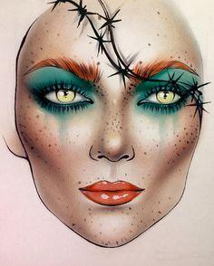 "4,154 Likes, 36 Comments - Sergey X (@milk1422) on Instagram: ""#artist@milk1412 #mylove #myart #myartistcommunity #myartistcommunityrussia #makeup #makeupart…"""