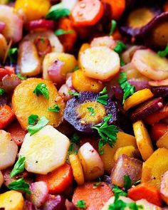 Sautéed Brown Butter Garlic Rainbow Carrots – The Recipe Critic Rainbow Carrot Recipes, Fruit Recipes, Vegetable Recipes, Healthy Recipes, Recipies, Healthy Habits, Bread Recipes, Yummy Recipes, Vegetarian Recipes