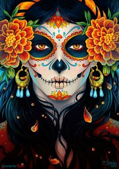 My Mexican heritage a respected Holiday Dia De Los Muertos where we go see the graves and pay our respects to our loved ones