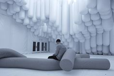 Aufgeblasen: Empfangspavillon zur Design Miami von Snarkitecure