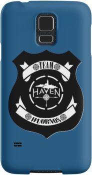 394ca93d 'Haven Team Wuornos Police Badge Black Logo' Case/Skin for Samsung Galaxy  by HavenDesign