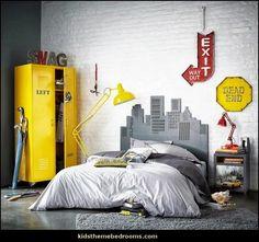 urban style-city living decorating ideas