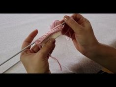 Örgüden ilginç bir lastik başlama tekniği (Trikolardaki gibi) - Örgü Teknikleri - YouTube