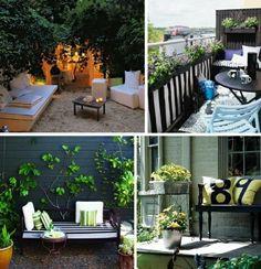 idées de décoration de balcon