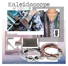 """""""Kaleidoscope of Color"""" by lizzyjames ❤ liked on Polyvore featuring Lizzy James, Missoni, Alaïa and VBH"""