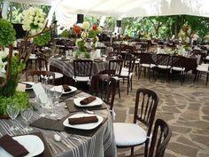 montajes de mesas para bodas en jardin - Buscar con Google