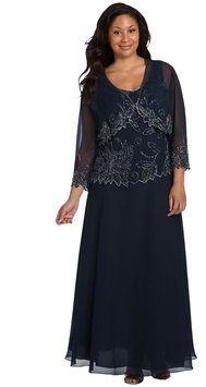 J Kara Plus Size Dress