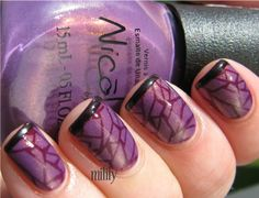 """Nicole by OPI """"Purple Yourself Together"""" with OPI Lincoln Park After Dark"""