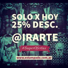#superoferta #remeras #fullprint #solo por #Internet en www.estampado.com.ar