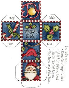 Via Madri Artesanato: Cartões de Natal