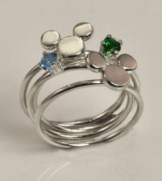 Mickey Mouse Ring Stacker Ring by TheJewelryGirlsPlace