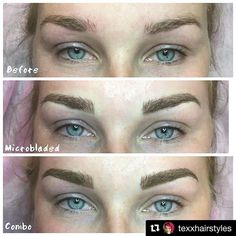 THESE ARE INCREDIBLE!!! More beautiful brows by #BROWBOSS Tisha of @texxhairstyles 😍😍😍