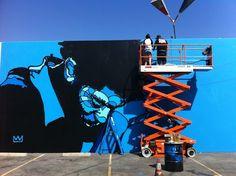 David Flores - Radiant Child (Culver City, California - tribute to Jean-Michel Basquiat).
