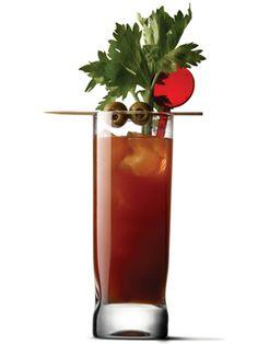 16 #Brunch #Cocktail Recipes: Bloody Deliciousness (vodka, tomato juice, celery salt, tabasco, Worcestershire sauce)