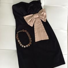 MODCLOTH Simple Little Black Dress Worn once, freshly dry cleaned. Perfect for that night out with your girls! ModCloth Dresses Asymmetrical