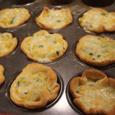 Empanadas abiertas de humita