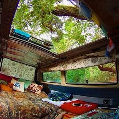 Talk about a sun roof! Photo: @salty_vw ~ #VanCrush - For more vanlife pics check me out on insta or FB - instagram.com/van.crush facebook.com/vangrrrl