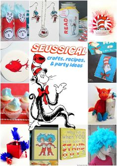 Seussical Crafts, Recipes and Party Ideas