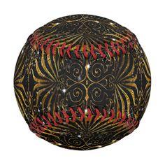 Black and gold Victorian filigree pattern.
