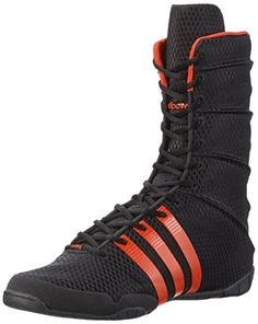 newest 36f32 3b567 adidas adiPower Boxing blackred - Black, Uni, 3.5. Boxing shoes.