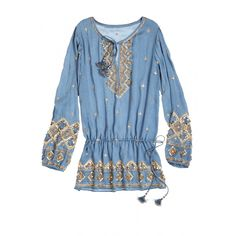 Fioretta Embellished Silk Jacquard Blouse   Calypso St. Barth