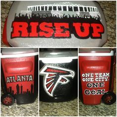 Atlanta falcons cooler