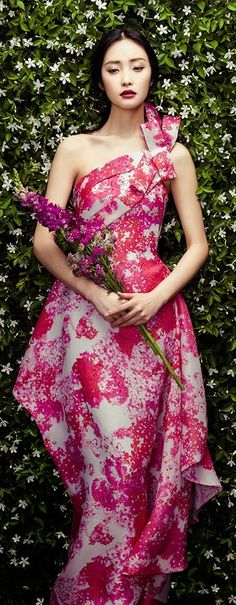 Kwak Ji Young by Zhang Jingna for Phuong My Spring/Summer 2015 Collection