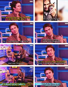 Ian Somerhalder - bravo for that response