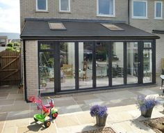 For lean-to conservatories in Barrow, Ulverston or Cumbria call Wardgroup on 01229 Buy a budget conservatory with customer service guaranteed. Orangerie Extension, Extension Veranda, Conservatory Extension, House Extension Plans, House Extension Design, Extension Designs, Glass Extension, Roof Extension, House Design