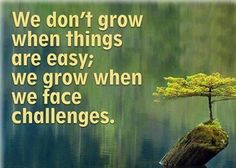 We don´t grow when things are easy...  #inspiration #motivation #wisdom #quote #quotes #life