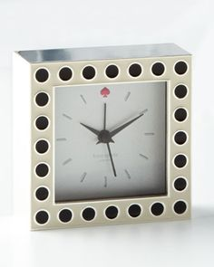 Crosse Pointe Clock by kate spade new york at Neiman Marcus.
