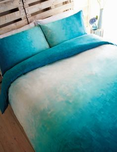 inpiration for my DIY ombre bed duvet cover