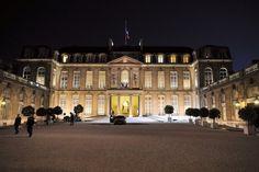 Palais de L'Élysée cour d'honneur