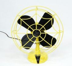Black and Yellow Fan!