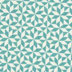 Cretonne Mosaic 3 - Cotton - light green Star Quilt Blocks, Cotton Lights, Origami, Quilts, Contemporary, Green, Home Decor, Atelier, Decoration Home