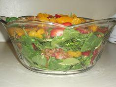 Our Seven Dwarfs: Summer Spinach Salad