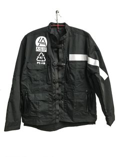 Jacket Utility Fit Fashion Fall Winter Baseball Black Jacket for Kids Queen-Fearless-Lives-Forever