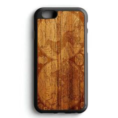 World Map Old iPhone 7 Case