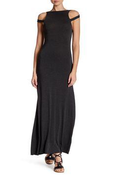 Sylvia Cold Shoulder Maxi Dress