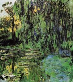 Weeping Willow and Water Lily Pond | Claude Monet | 1916