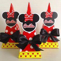 1• Mensário da Cecília! Caixinhas torres com Jujubas! #Cecilia1mês #Minnie